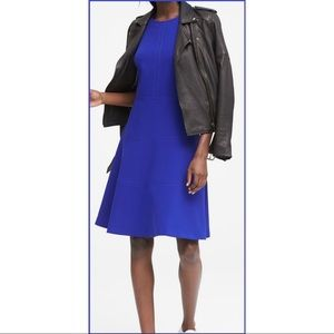 Banana Republic Racer Blue Dress